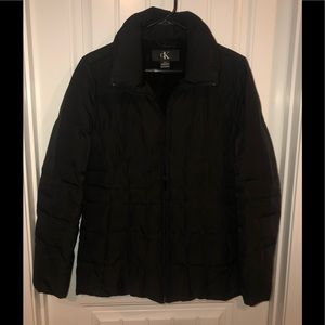 Black Calvin Klein down coat S Small